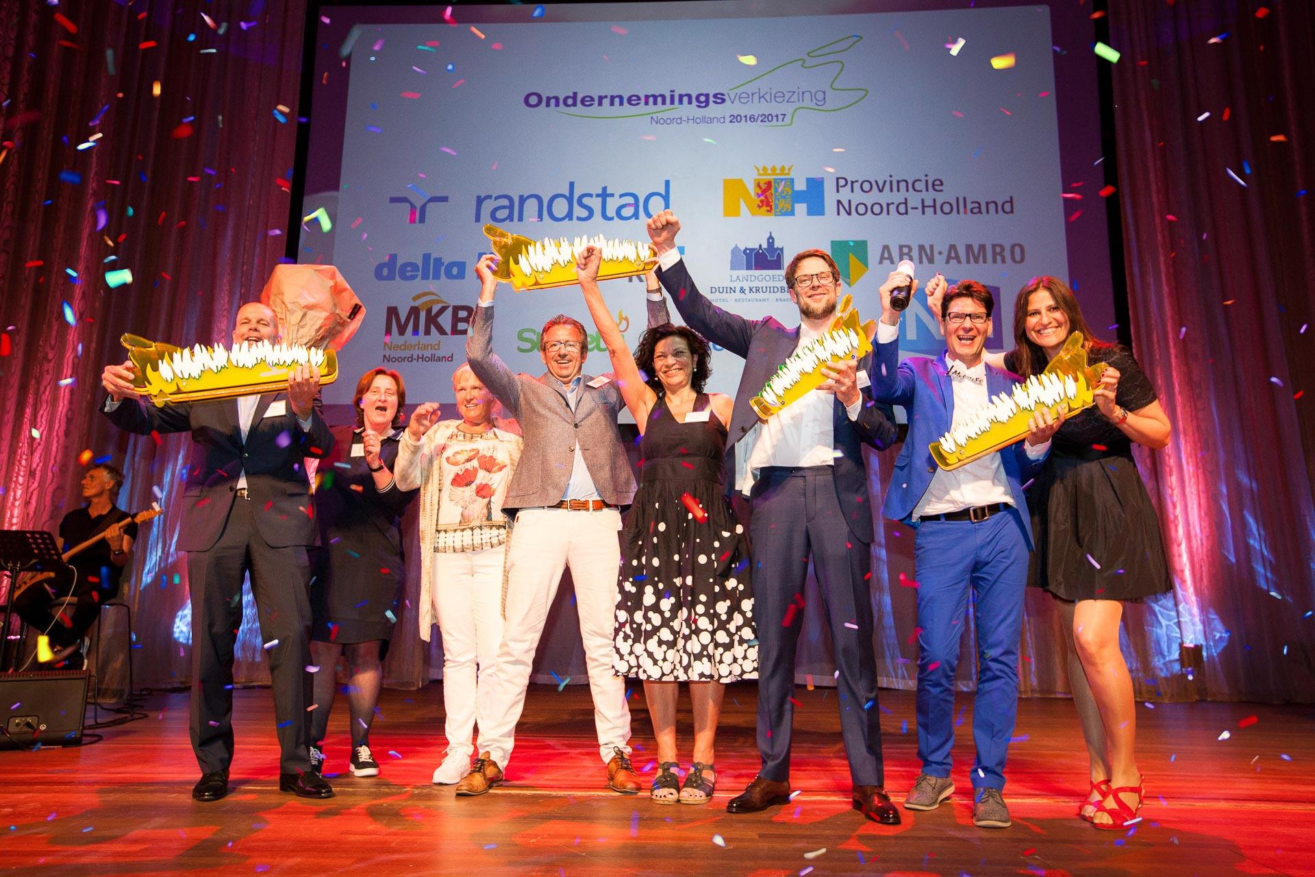 Winnaars van de Ondernemingsverkiezing Noord-Holland