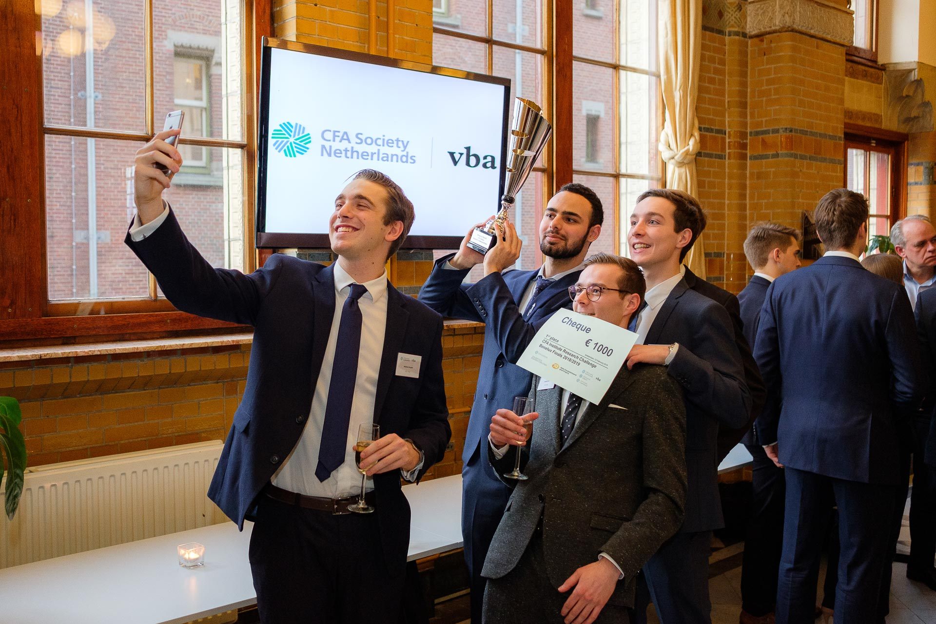 Winnaars van de CFA Research Challenge