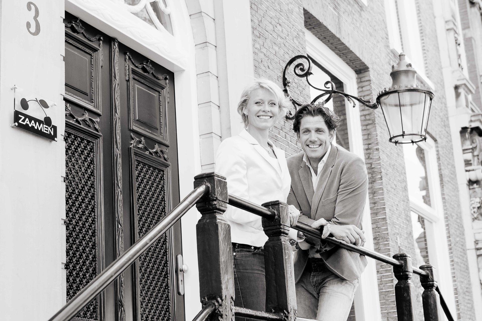 Teamfoto bij ZAAMEN Haarlem