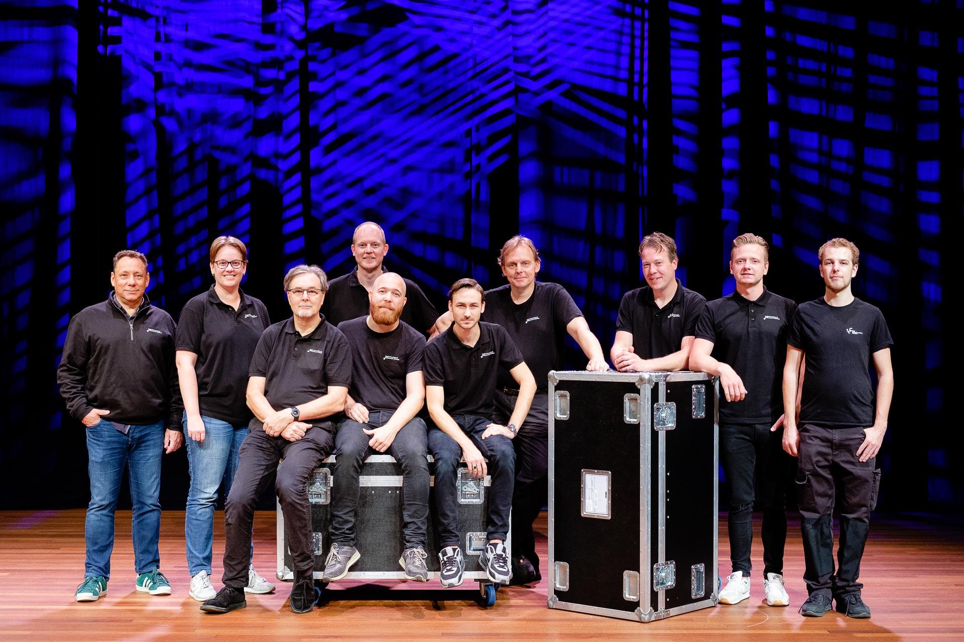 Teamfoto Techniek Ploeg Theater Haarlem
