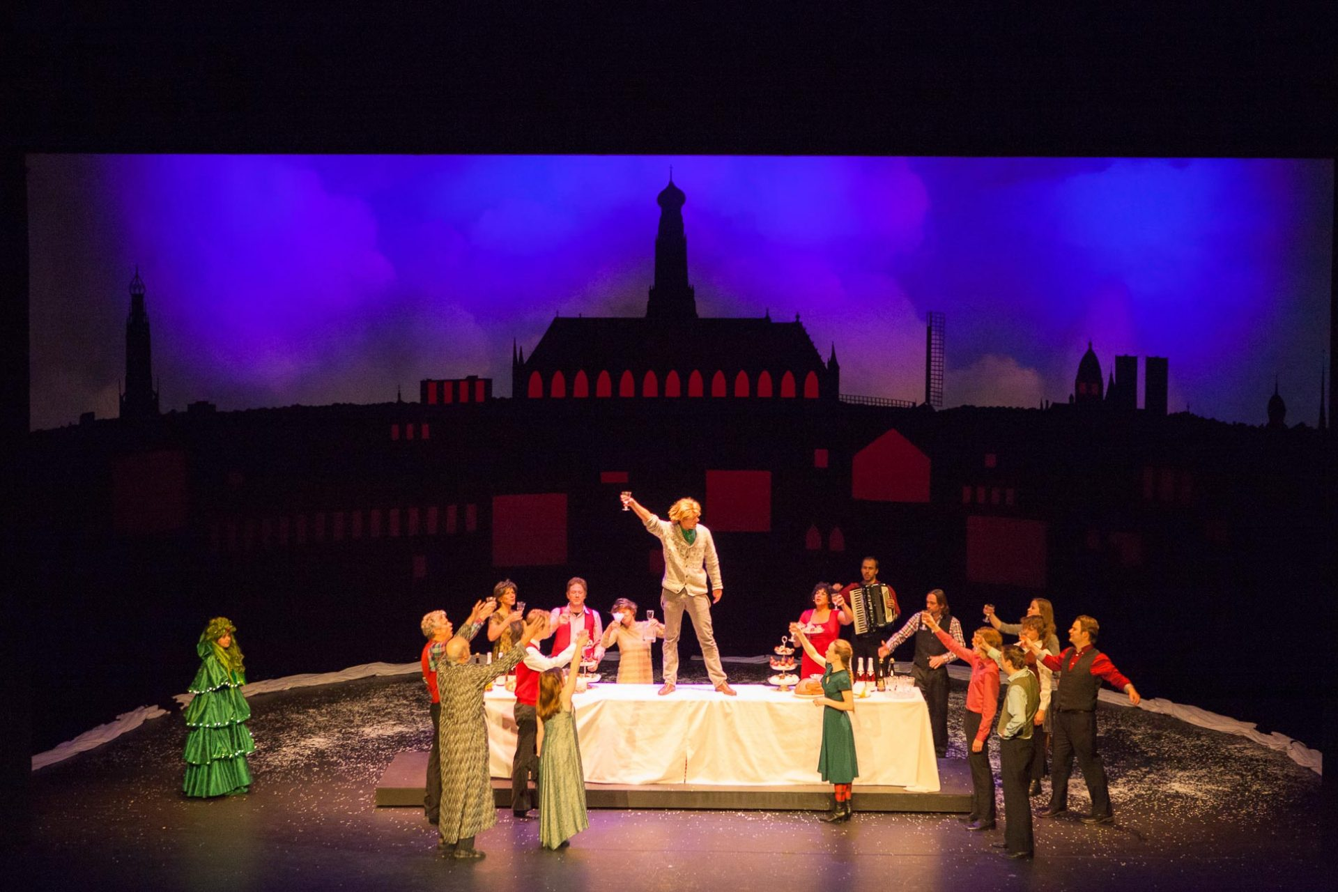 Voorstelling Scrooge Theater Haarlem